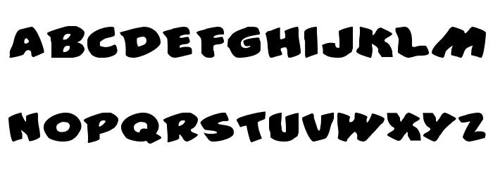 #44 Font Expanded Шрифта ВЕРХНИЙ