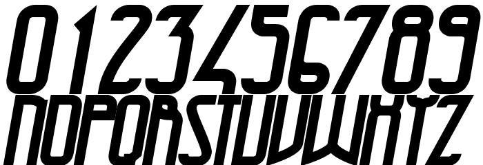 47 Bold Italic Schriftart Anderer Schreiben