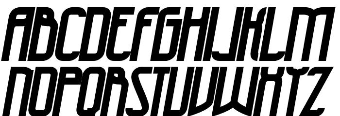 47 Bold Italic Schriftart Groß