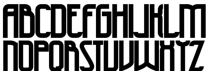 47 Bold Schriftart Kleinbuchstaben