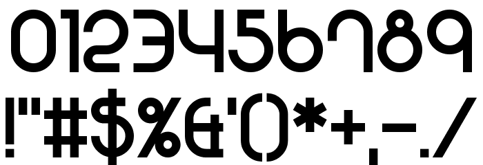 501 Font OTHER CHARS