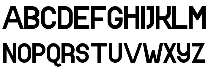 538Lyons Font Font UPPERCASE