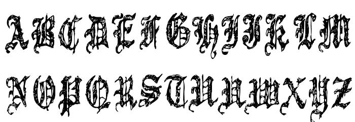 5 Font UPPERCASE