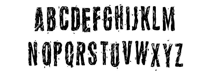 5 Font LOWERCASE