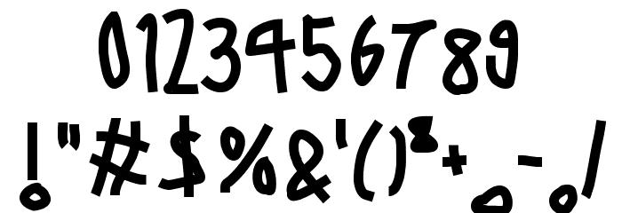 6 Script Font OTHER CHARS