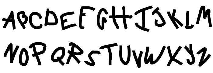 6 Script Font UPPERCASE