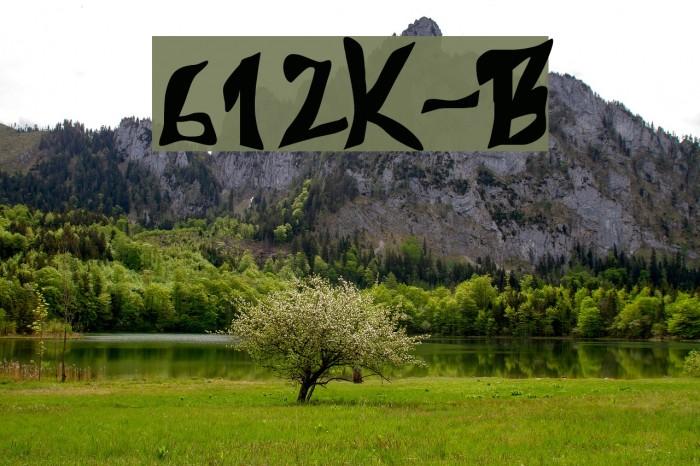 612Koshey-Bold لخطوط تنزيل examples