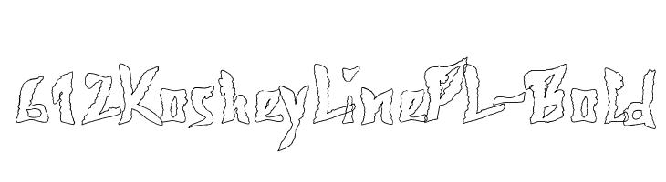 612KosheyLinePL-Bold  Free Fonts Download