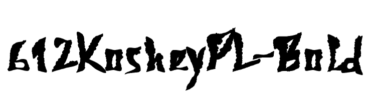 612KosheyPL-Bold  Free Fonts Download