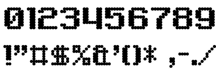 6809 Chargen Шрифта ДРУГИЕ символов