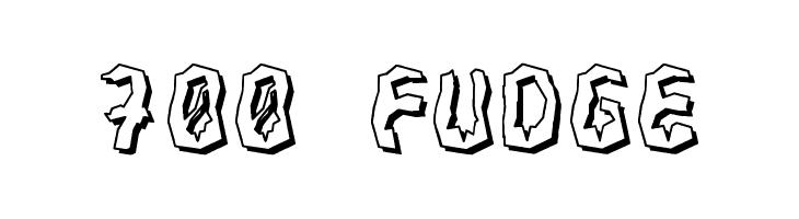 700 Fudge  Free Fonts Download