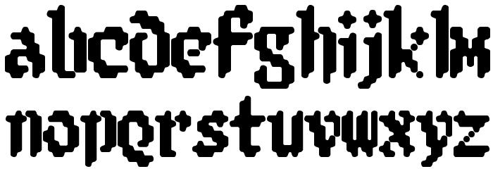8-bit Limit R [BRK] Font LOWERCASE