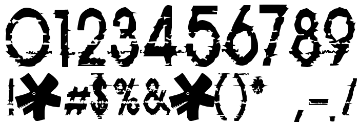 814yzx Font OTHER CHARS