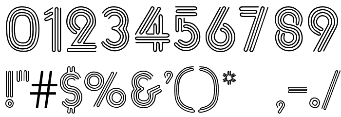 &_NearSighted Normal Font Alte caractere