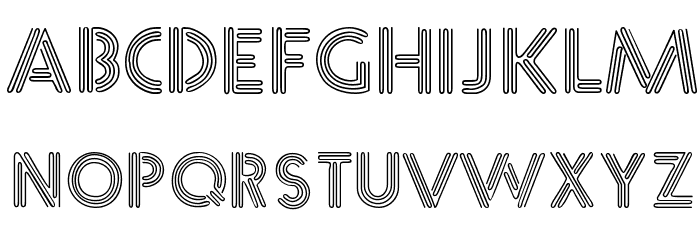 &_NearSighted Normal Font Litere mari