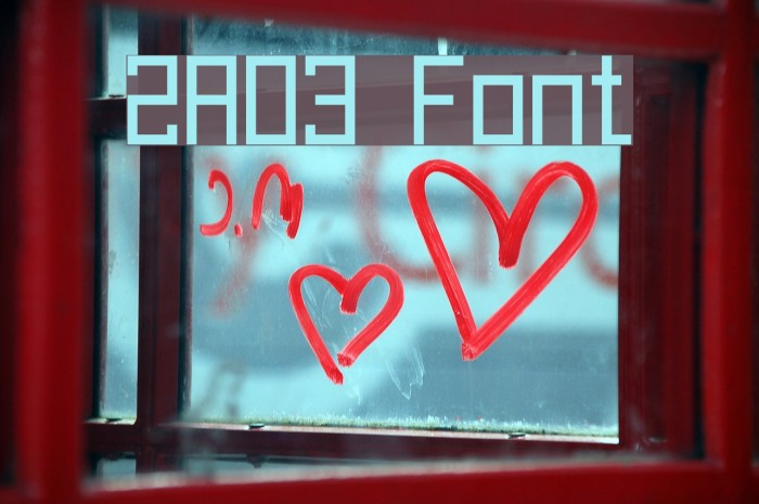 2A03 Font examples