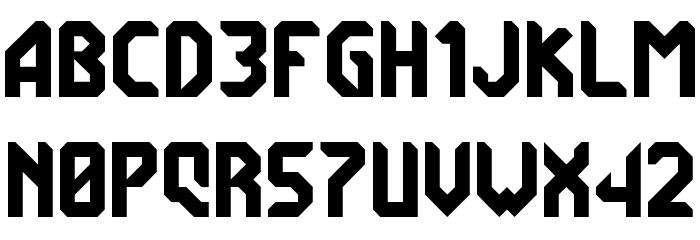 7ABL3 Font UPPERCASE