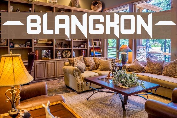 -BLANGKON- Font examples