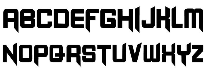 -BLANGKON- Font Litere mici