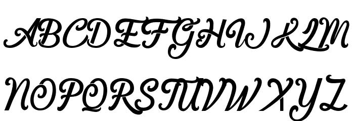 &Championship Font Litere mari