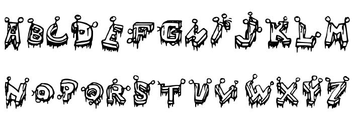 =Clout�= Medium Font UPPERCASE