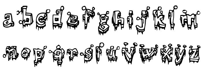 =Clout�= Medium Font LOWERCASE