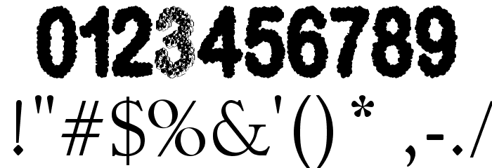 3D Cubes Solid Font OTHER CHARS