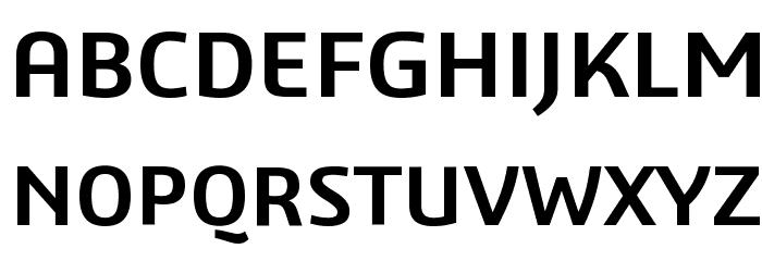 3ds-SemiBold Font UPPERCASE