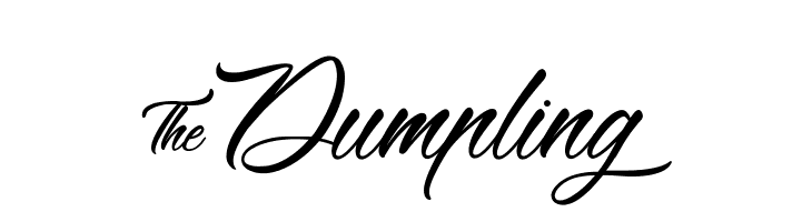 &Dumpling  Free Fonts Download