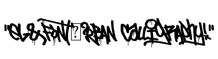 `eL&FoNt[?rBAN CallIgRAPhy!` Font