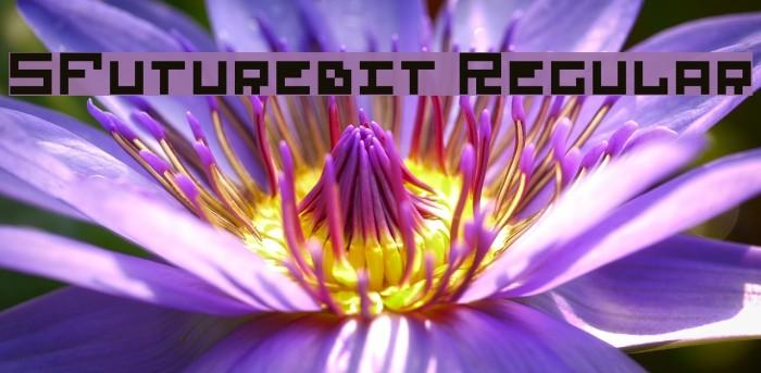 5Futurebit Regular Font examples