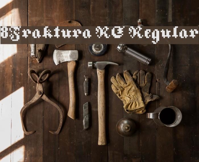 8Fraktura RC Regular Font examples