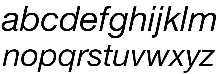 .Helvetica Neue Interface Italic M3 Fonte MINÚSCULAS