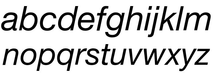 .Helvetica Neue Interface Italic Font Litere mici