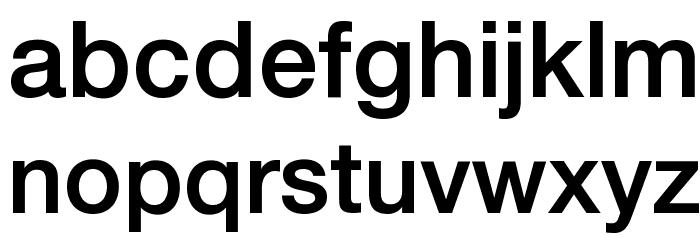 .Helvetica Neue Interface Medium P4 Font LOWERCASE
