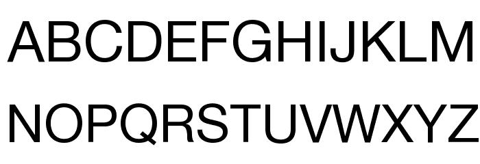 police ecriture helvetica