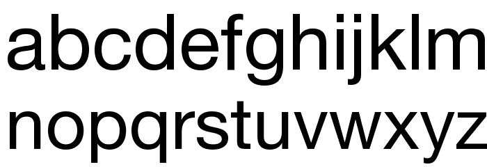 .Helvetica Neue Interface Шрифта строчной