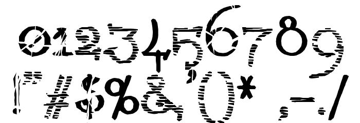 !LestaticCSS Font OTHER CHARS