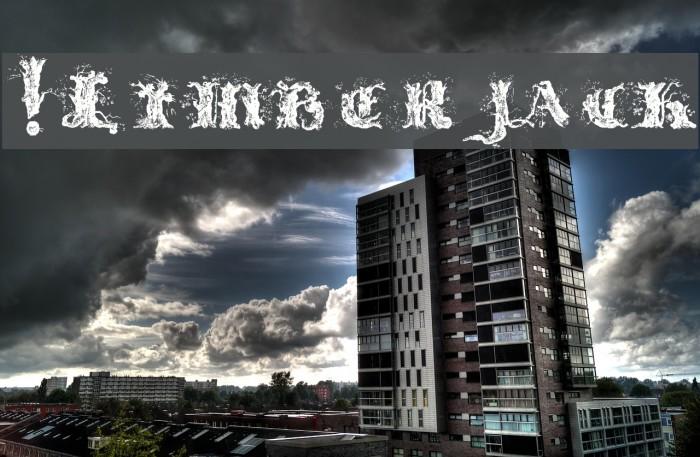 !Limberjack फ़ॉन्ट examples