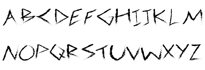 3M Spasynote Font UPPERCASE