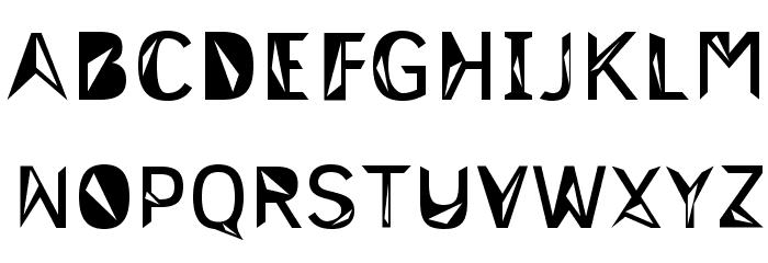 3M Trislan Font UPPERCASE