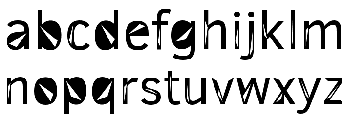 3M Trislan Font LOWERCASE