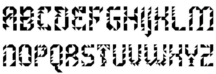 5Metrik Light Alien Regular Font UPPERCASE