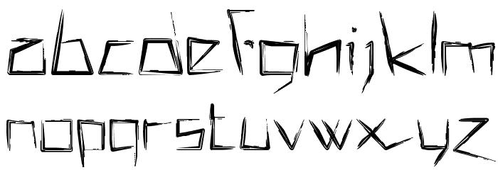 !MISQOT DemiBold Font LOWERCASE