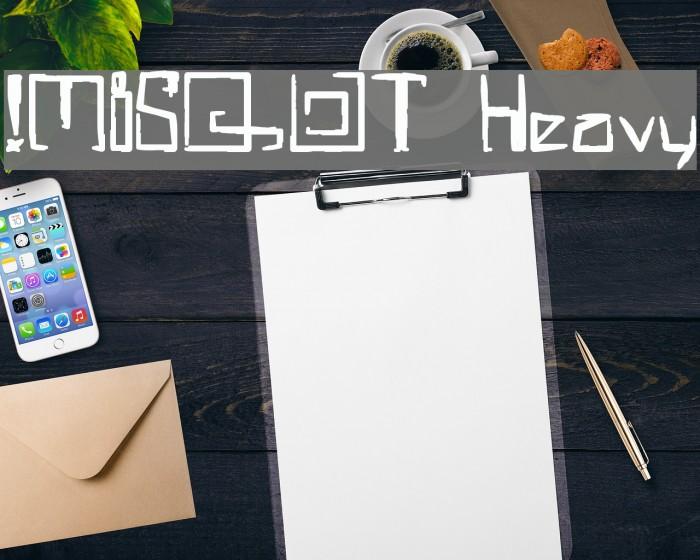 !MISQOT Heavy لخطوط تنزيل examples