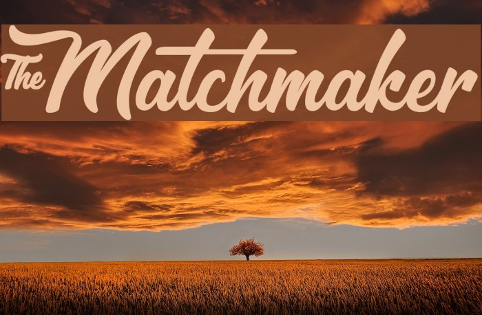 &Matchmaker फ़ॉन्ट examples