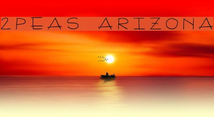 2Peas Arizona Шрифта examples