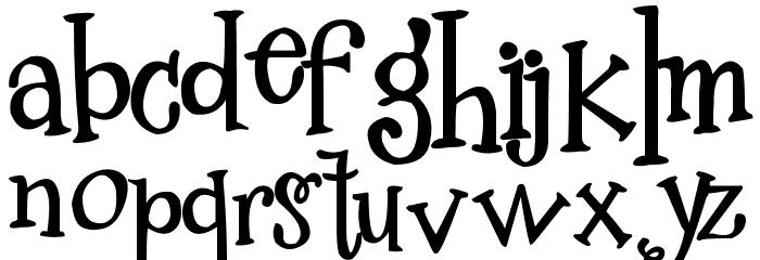 2Peas Mister Giggles Font Litere mici