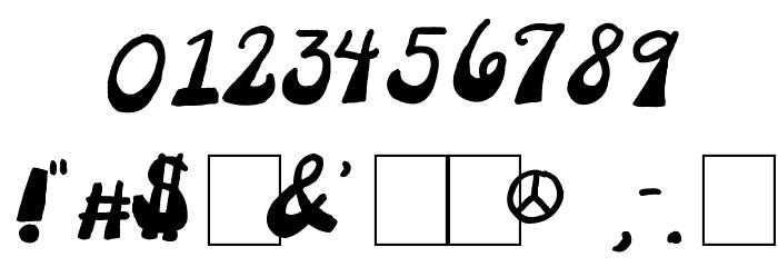 2Peas Platform Shoes Font OTHER CHARS