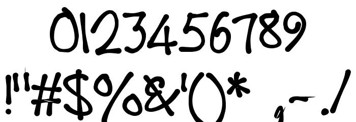 !PaulMaul Bold Шрифта ДРУГИЕ символов
